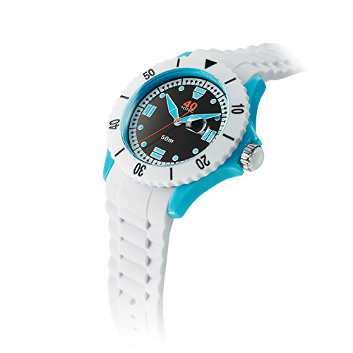 40Nine Extra Large White Watch product image
