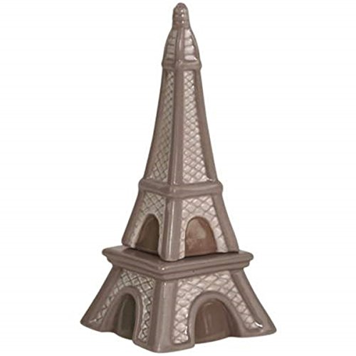 - WL SS-WL-94471, 5 Inch Paris-Inspired Eiffel Tower Salt and Pepper Shakers - Gray, 5