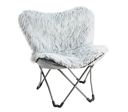 Fur Chair - Glacier Gray (For Chairs Cool Teenagers)