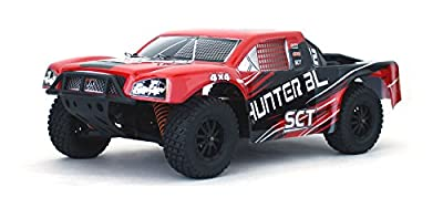 Hunter - 1/10 Scale RTR Electric Brushless Ready-To-Run 4WD Short Course Truck
