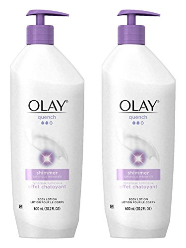 Olay Quench Ultra Moisture Shea Butter Body Lotion, 20.2 fl oz (Pack of 2) Packaging May Vary (Best All Over Body Lotion)