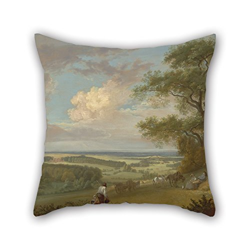 Loveloveu Throw Pillow Case Of Oil Painting Paul Sandby - Hackwood Park, Hampshire,for Gril Friend,play Room,dance Room,boys,kids,bar 16 X 16 Inches / 40 By 40 Cm(double Sides)