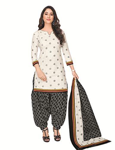 Reya Printed Cotton Dress material