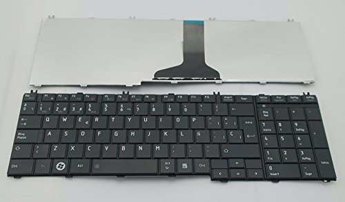 Laptop Keyboard Toshiba Satellite L655 L650 C660 C660D C655 C655D Spanish Latin