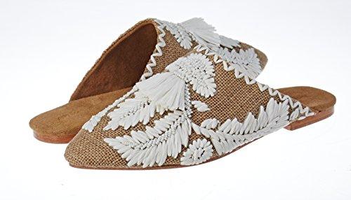 cream Punta Chiusa Sandali Batik Antik Donna Leah Beige g0zxC7twq
