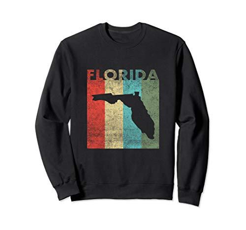 - Florida Retro Sweatshirt Women Men Roots Home State Gifts
