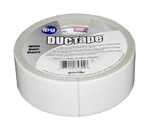 Intertape Polymer Group 20C-W 2 DUC Tape, 1.88-Inch x 60-Yard, White