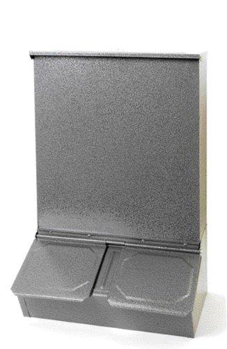 (FEEDER 2 DOOR HOG 1 - 100 Pound - Gray)