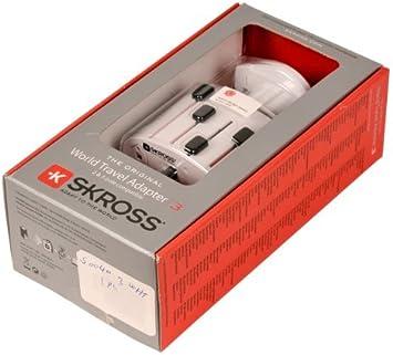 S Kross World Travel Adapter 3 In A Retail Box White Computer Zubehör