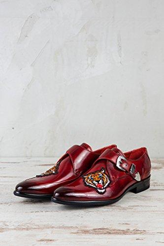 Lacets À De 208 amp; Hamilton Ville Melvin Rot Rouge 41 Homme Mh15 Eu Chaussures Pour fgw8A4x0q