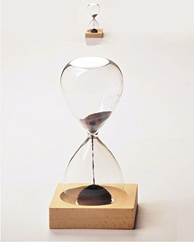 Graces Dawn Hand-Blown Glass Sand Timer Magnet Magnetic Hourglass Beautiful W.. 4