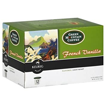 Green Mountain Coffee Roasters French Vanilla Flavored Light ...