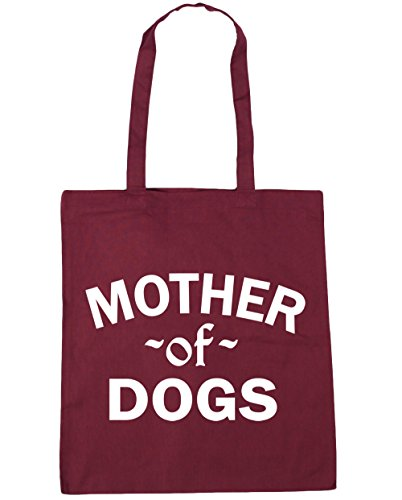 Dogs Bag 10 Mother Beach HippoWarehouse 42cm Of Burgundy litres Gym x38cm Shopping Tote q1xERawO