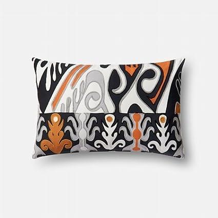 13 x 21 Cover W//Down Loloi DSET Orange//Multi Decorative Accent Pillow