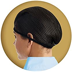 Ovation Deluxe Hair Net Pack of 2 Light Brown