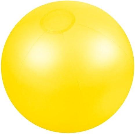 Presents & more - Pelota de playa amarillo: Amazon.es: Deportes y ...