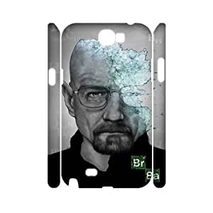 C-EUR Breaking bad Customized Hard 3D Case For Samsung Galaxy Note 2 N7100