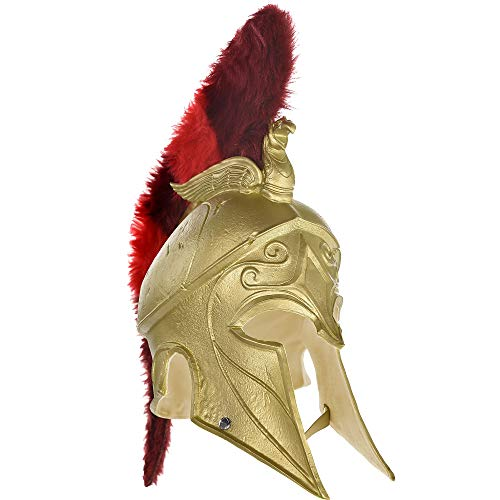 Party City Assassin's Creed Odyssey Helmet Halloween Costume Accessory for Adults, Assassin's Creed, Standard ()