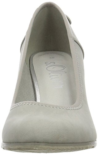s.Oliver22404 - Zapatos de Tacón Mujer Gris (LT GREY 210)