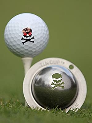 Tin Cup The Jolly Roger Golf Ball Marking Stencil, Steel