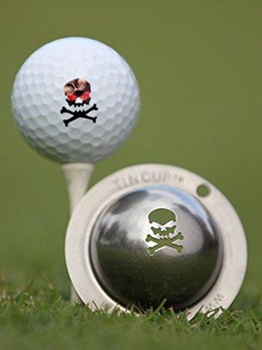 Tin Cup The Jolly Roger Golf Ball Marking Stencil, Steel - Golf Ball Award