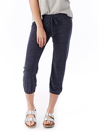 Alternative Women's Crop Pant, Eco True Navy, Small