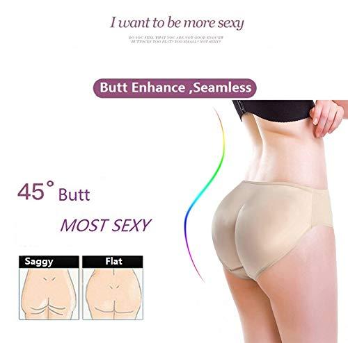 4770eed0a Amazon.com  OUSPOTS Sexy Butt Lifter Women Hip Enhancer Hot Body Shaper Booty  Lift Up Waist Trainer Tummy Control Panties Big Ass Pads Panty  Health ...