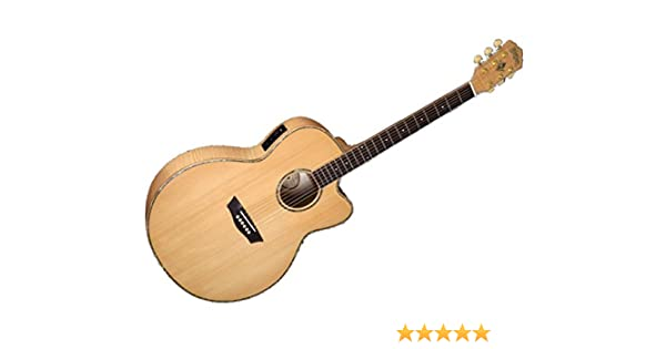 Washburn WJ45SCE - Wj45s ce guitarra electroacústica tipo jumbo ...