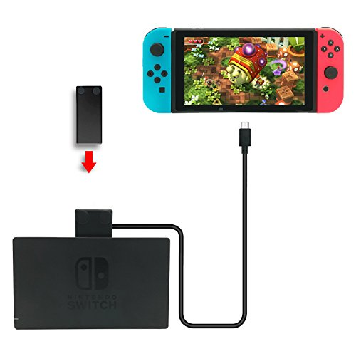Fashioneey Nintendo Switch Extension Cable,USB-C Charging Cable for Nintendo Switch Console Connector Extender Cord Charging and Data Sync for Nintendo Switch Dock (3.3 Feet) For Sale