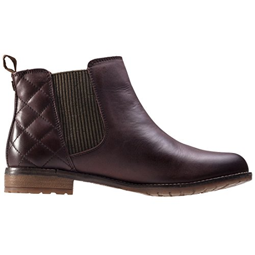 Abigail Casual Ankle Leather Wine Womens Boots Winter Barbour Low Heel Smart HI5q7qw