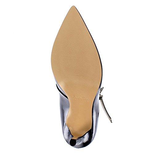 Evita Shoes Alina - Zapatos de vestir de Piel para mujer gris oscuro