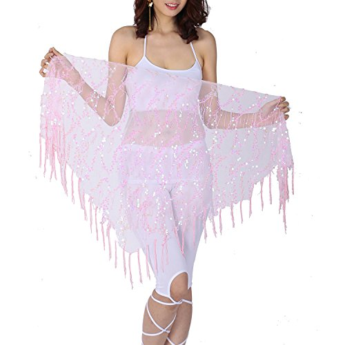 Tribal Gypsy Cabaret Triangle Hip Scarf for Halloween Zumba Belly Dance Class for $<!--$8.99-->