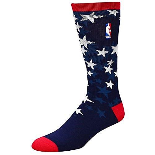 For Bare Feet Nba Veterans Day Crew Socks Navy L ()