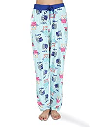 Victorias Collection Womens Silky Pajama Lounge Pants