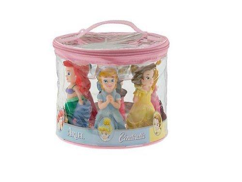 Disney Water Parks - Disney Theme Parks Exclusive Princess Bath Tub Pool Squeeze Toys 5 Pc. Set Belle Ariel Cinderella Aurora Snow White