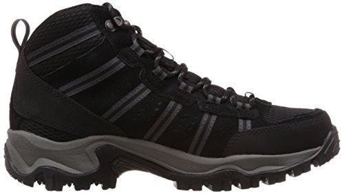 Columbia Mens Borse Da Passeggio Wp Lace Up Hiking Sneakers Nero, Antracite
