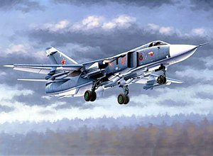 Trumpeter 1/48 Sukhoi Su24M Fencer D Russian Attack Aircraft Model Kit