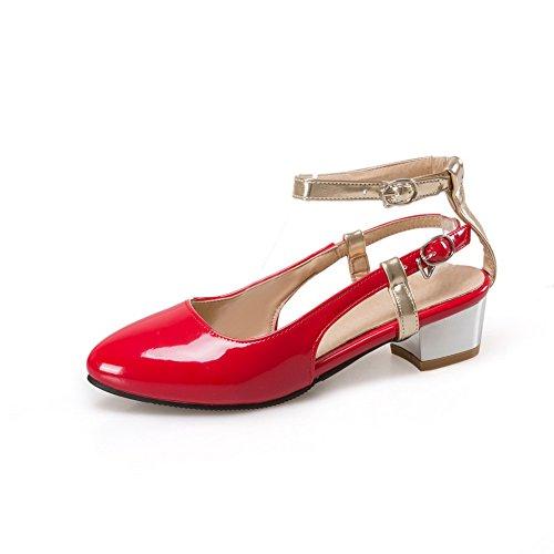 Rosso alla Caviglia Donna 35 Red Cinturino AdeeSu wgxqp1Pg