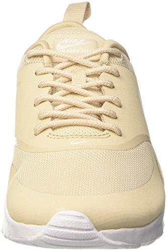 Nike Womens Air Max Thea Scarpa Da Corsa Oatmeal / Vela-bianco