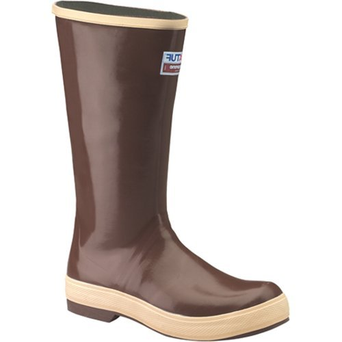 "XTRATUF Legacy Series 15"" Neoprene Men's Fishing Boots, Copper & Tan (22272G) 22272G-CTM-110"