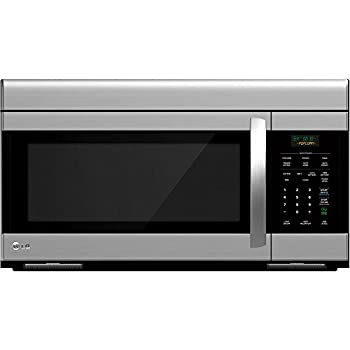 lg lmv1683st microwave oven with 300 cfm venting system 16