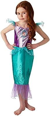 Rubies 640716M Disfraz de princesa Disney Ariel Gem, Niñas ...