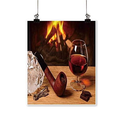hocolate Tobacco Pipe Wall Art for Bedroom Home,12