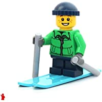 LEGO Holiday MiniFigure - Skier Boy w/ Winter Jacket...