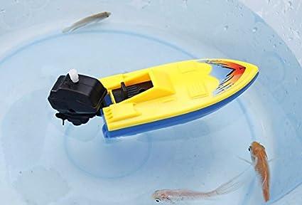 ACHICOO simulación Inflable Reloj Barco Barco Nave niños Nadar baño Juguete para baño Playa Piscina niños Regalos