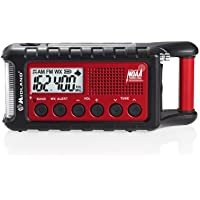 Midland Consumer Radio ER310 Emergency Solar Hand Crank AM/FM Digital Weather Radio