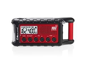 Midland Consumer Radio ER310 Emergency Solar Hand Crank AM/FM Digital Weather Radio