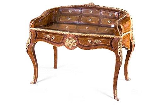 Barock Schreibtisch Sekretär Bureau Plat Louis XV Mosk0244Hz