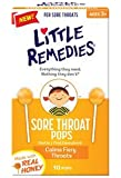 Little Remedies for Sore throat pops, made of Honey Lollipop- 10 Pops (Pack of 2)