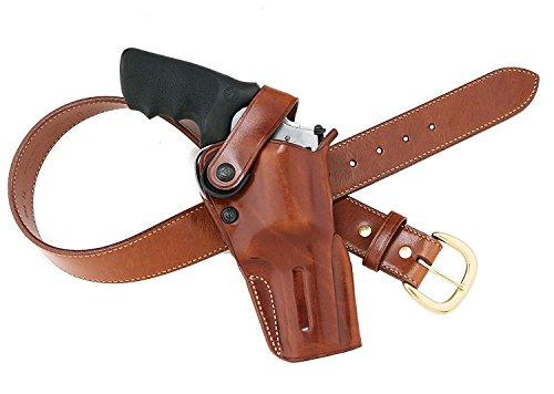 Galco Dual Action Outdoorsman Holster for S&W L FR 686 6-Inch (Tan, Left-Hand)